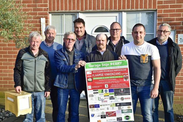 Geen auto's op Rijksweg in Roeselare door provinciaal kampioenschap vinkenzetting