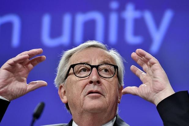 """Brexit: Juncker juge la proposition travailliste de renégocier l'accord pas """"réaliste"""""""