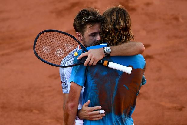 Wawrinka rejoint Federer après un marathon de... 5 heures contre Tsitsipas