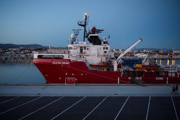 Reddingsschip Ocean Viking mag niet tanken in Malta