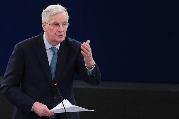 """Brexit: Barnier """"ouvert"""" sur les relations futures entre l'UE et le Royaume-Uni"""