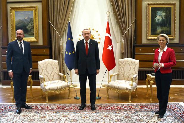 """Sofagate: La Turquie blâme l'UE pour """"ses accusations injustes"""""""