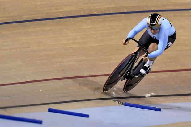 Nicky Degrendele bereikt 16e finales sprint in Minsk
