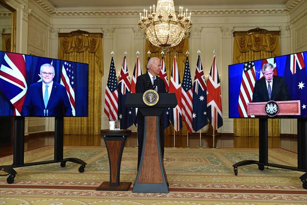 'Het militaire en technologische partnerschap Aukus is een buitenkans'