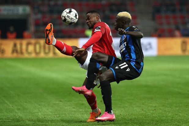 Le Standard et Club Bruges se quittent sur un partage 1-1