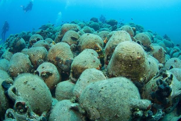 Oude scheepswrakken in Griekenland voor het eerst toegankelijk voor duikers