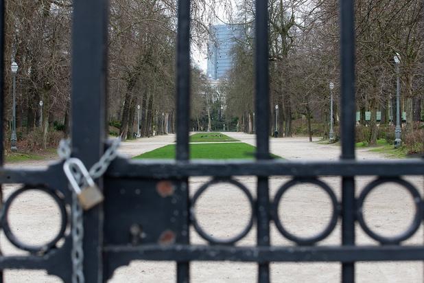 Fermeture des parcs de la Région bruxelloise en raison des fortes rafales de vent