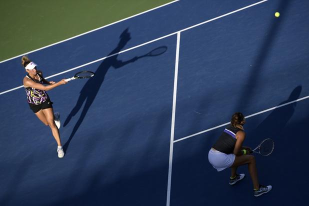 Elise Mertens passe à côté d'un quatrième titre en double cette saison