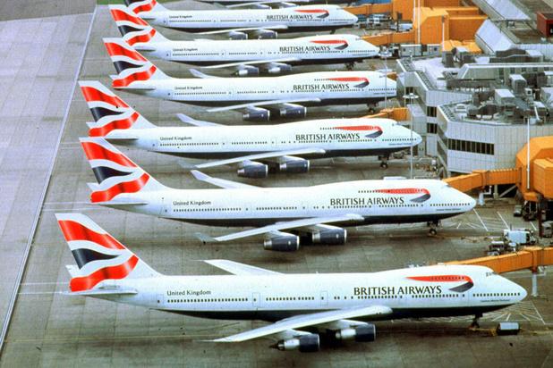 Zeven miljard euro verlies voor British Airways-moeder IAG