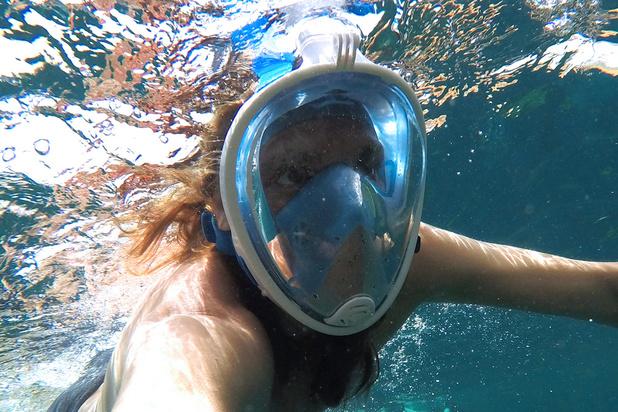 Des masques de plongée pour pallier le manque de respirateurs