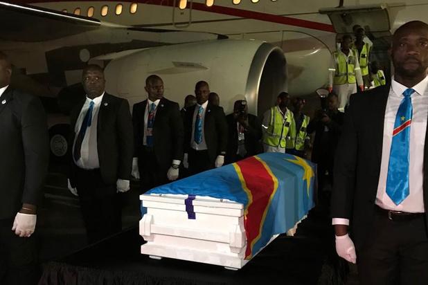 Arrivée à Kinshasa du corps d'Etienne Tshisekedi