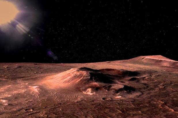 Du méthane sur Mars, une source peut-être localisée