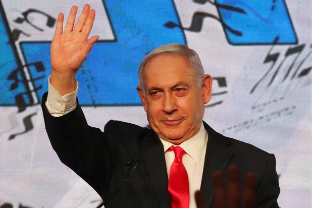 """Israël: Netanyahu revendique une """"immense victoire pour la droite"""""""