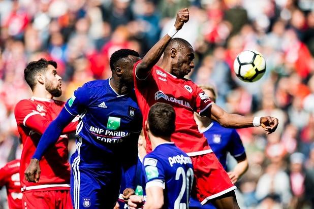 L'Antwerp et Anderlecht se quittent sur un nul qui n'arrange personne
