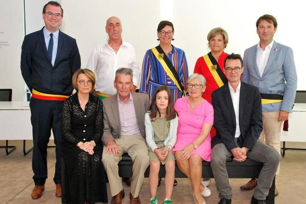 Zultenaars Livine Verniers en Maurice Bruneel vieren gouden jubileum