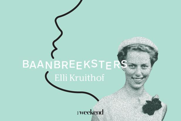 Podcast Baanbreeksters: luister naar het levensverhaal van Elli Kruithof, de Ray Eames van Vlaanderen