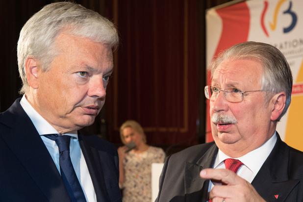 """Flahaut loue le """"Respect de la parole donnée"""" et le """"cynisme"""" de Reynders"""