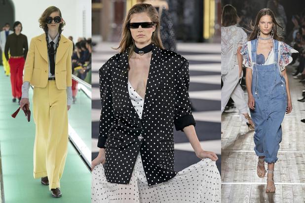 Mode: 10 tendances que l'on va aimer au cours du printemps-été 2020 (vues aux défilés)