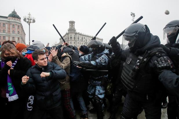 Des dizaines de milliers de personnes manifestent en Russie, à l'appel de Navalny