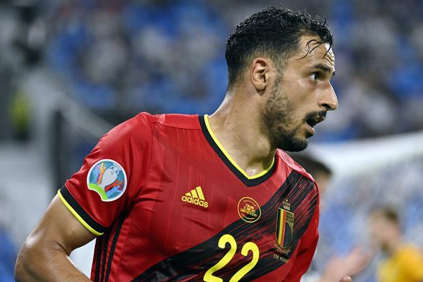 EURO 2021: Nacer Chadli n'accompagne pas les Diables Rouges à Séville