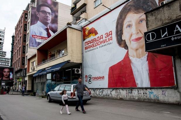 Noord-Macedonië naar de stembus voor tweede ronde presidentsverkiezingen