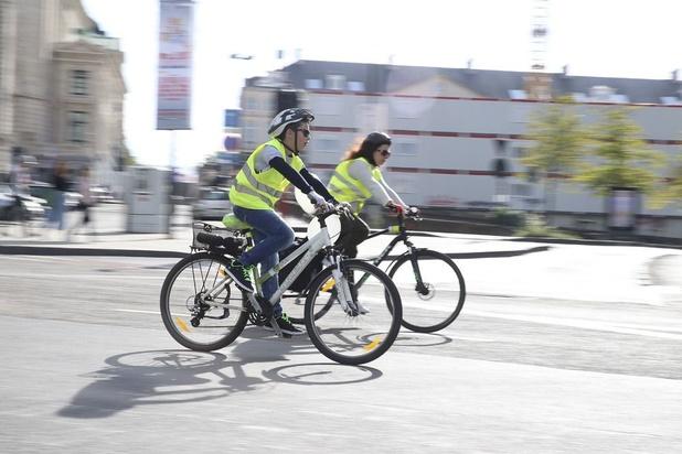 Le vélo continue à s'imposer comme mode de déplacement à Bruxelles