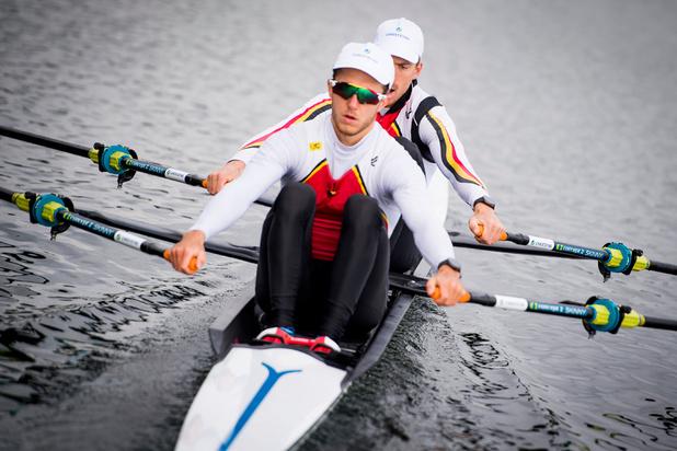 Van Zandweghe en Brys roeien B-finale op zoek naar olympisch ticket