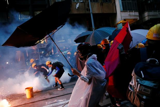 Opnieuw tienduizenden op straat in Hongkong