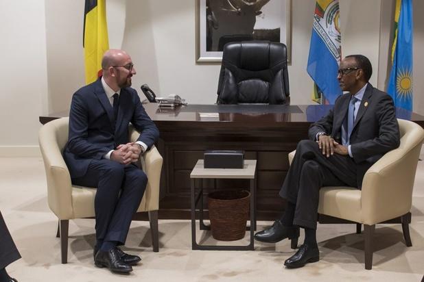 Au Rwanda, Michel évoque l'avenir des relations entre l'Europe et l'Afrique avec Kagame