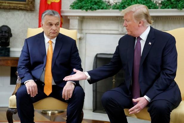 Donald Trump looft migratiebeleid Hongaars premier Viktor Orban