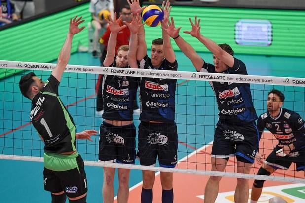 Titelfinale voor Knack na 1-3 winst op Maaseik