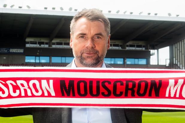 """Bernd Hollerbach: """"Mouscron est un club qui a les pieds sur terre"""""""