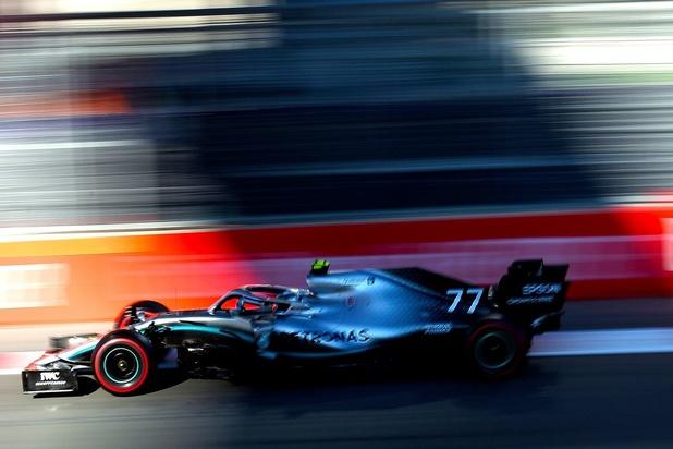 Valtteri Bottas gagne le GP d'Azerbaïdjan devant Lewis Hamilton