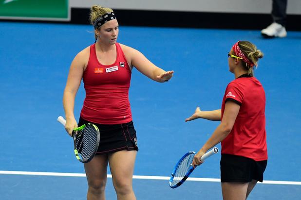Belgische tennisvrouwen ontmoeten Kazachstan in Fed Cup