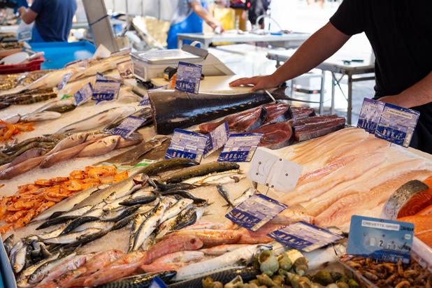 La fermeture de l'horeca fait baisser le prix du poisson