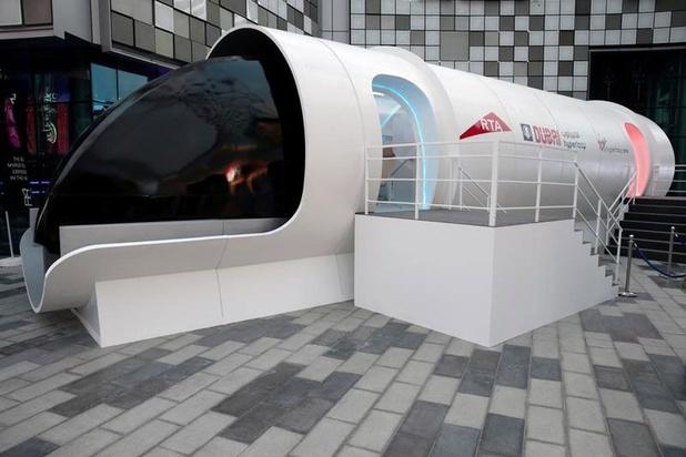 L'hyperloop réduirait le trajet Amsterdam - Bruxelles à moins d'une demi-heure