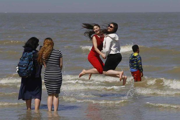 Le beau temps a attiré 275.000 touristes d'un jour à la Côte ce week-end