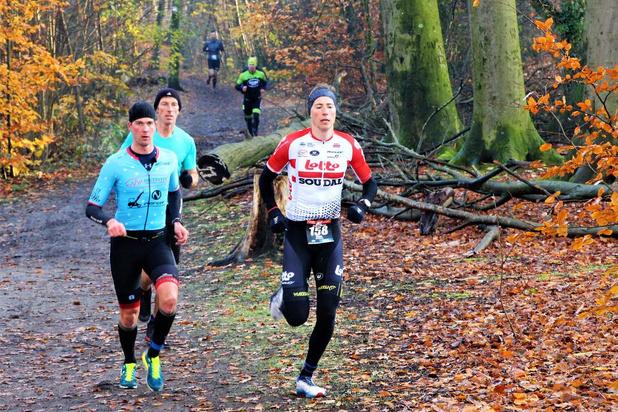 Wielrenner Jens Keukeleire knap derde in crossduatlon
