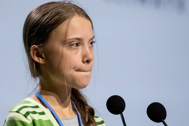Time roept Greta Thunberg uit tot Persoon van het Jaar