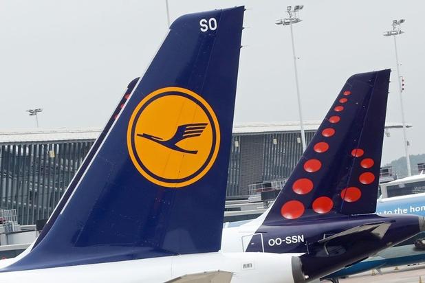 Staking bij Lufthansa leidt tot 14 geschrapte vluchten op Zaventem