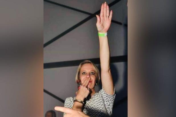 Lokale voorzitster uit Vlaams Belang gezet na Hitlergroet