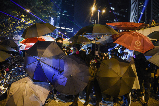 De protesten in Hong Kong dwingen techgiganten om kant te kiezen