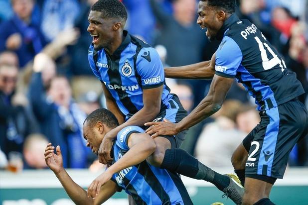 Club Brugge rolt Genk op na pauze en blijft in titelrace