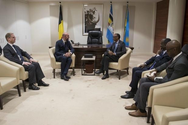 Michel bespreekt toekomst van Afrikaans-Europese relaties met president Kagame