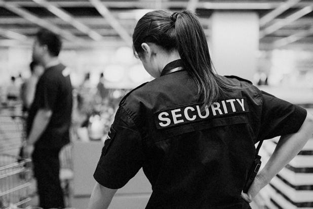 Des agents de sécurité également au chômage économique