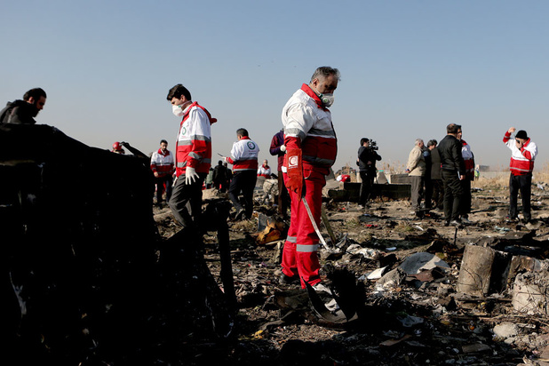 Crash en Iran: La piste du missile iranien est crédible