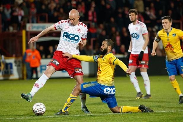 KV Kortrijk is maximum kwijt na verlies tegen Union