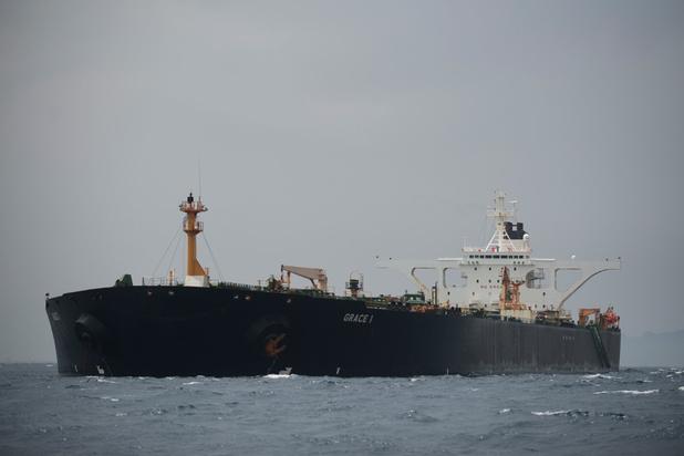 VS leggen sancties op aan Iraanse tanker en zijn kapitein