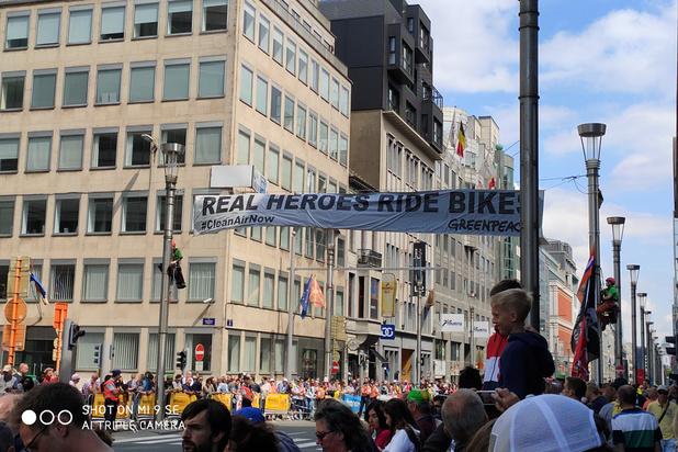 Greenpeace appelle à une véritable politique pour favoriser l'usage du vélo