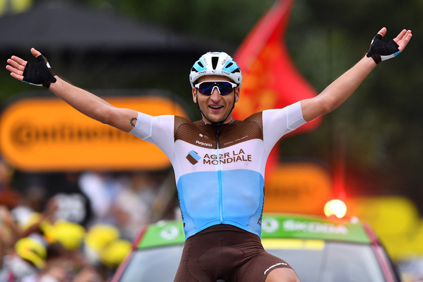 Le Français Nans Peters remporte la 8e étape du Tour de France